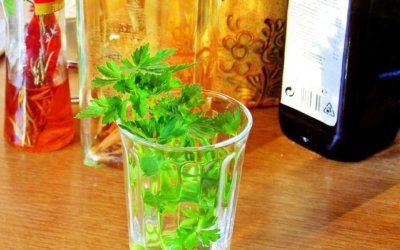 Petržlenový olej pre vaše zdravie!