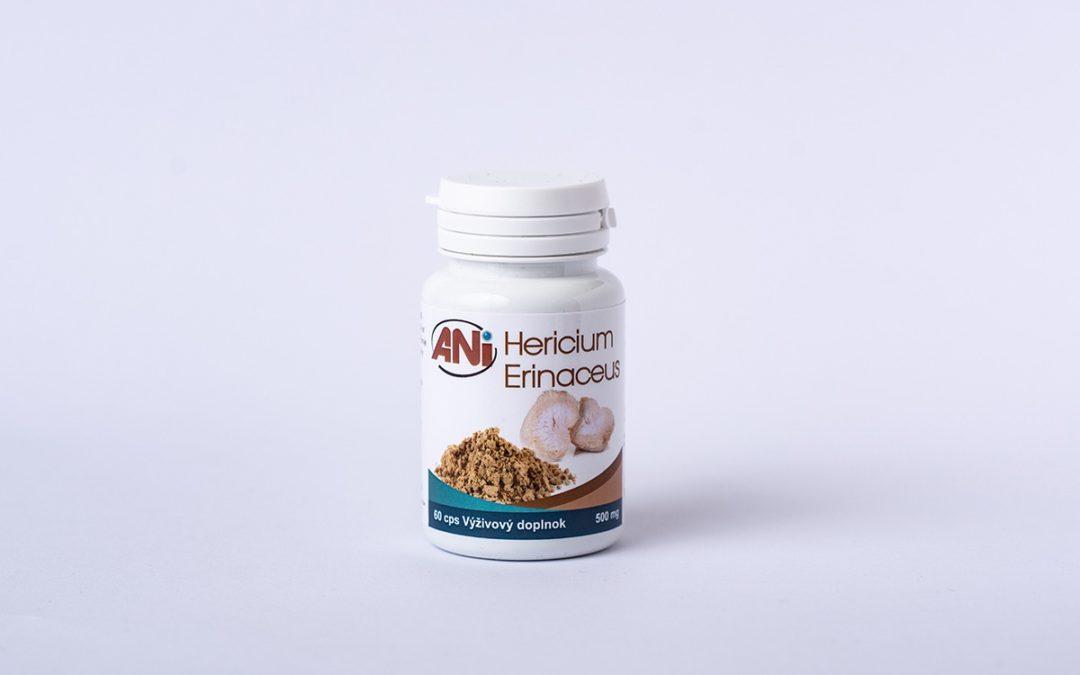 Hericium erinaceus alebo Levia hriva