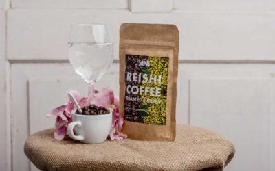 Káva s reishi