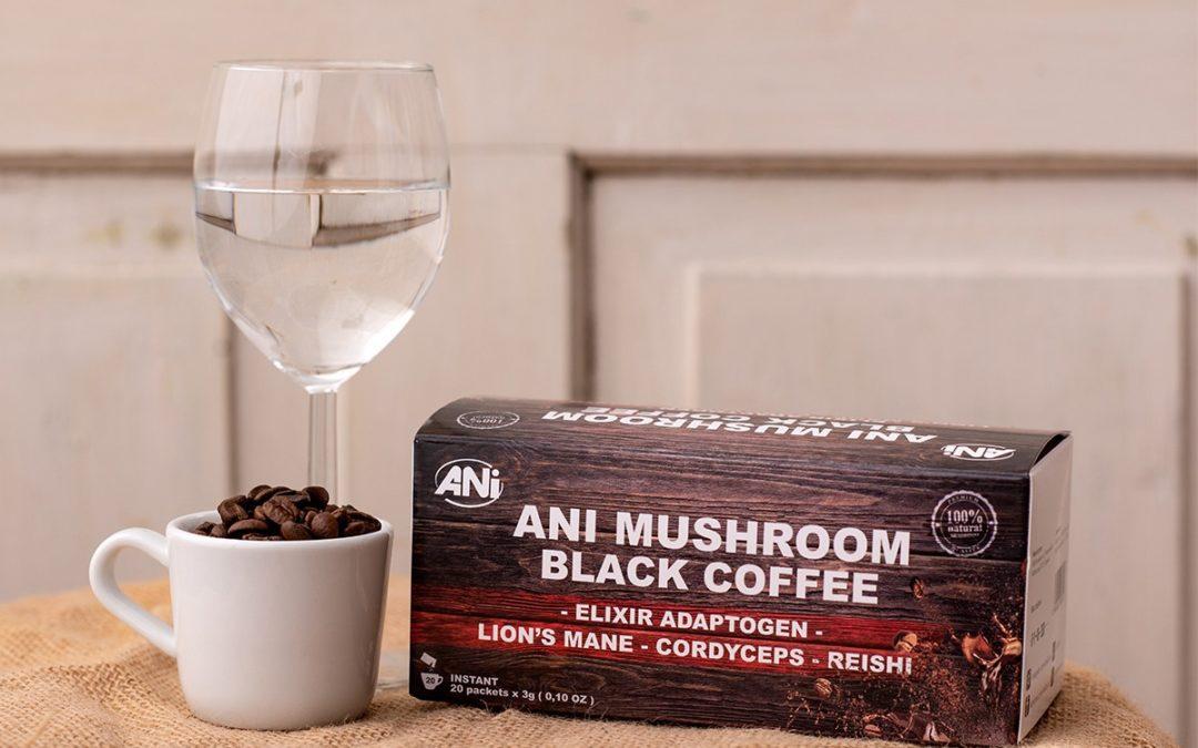 Uzdravte sa s kávou s tromi liečivými hubami!